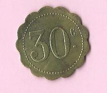 Jeton :  Recto , Verso : 30c - Jetons & Médailles