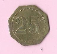 Jeton :  Recto , Verso : 25c - Jetons & Médailles