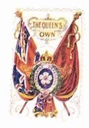 Vignette Militaire Delandre - Angleterre - The Queen's Own - Erinnofilia