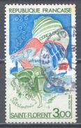 France YT N°1794 Saint Florent Oblitéré ° - Francia