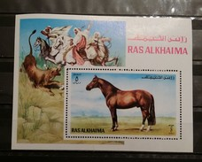Ras Al Khaima, 1972, Mi: Block 117A (MNH) - Cavalli
