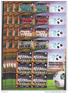 SIERRA LEONE   Football Soccer World Cup  2010  32  Sheetlets Imperf.  Rare!