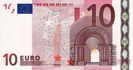 EUROPEAN MONETARY UNION 10 EURO 2002 P-9x UNC  (GERMANY) CODE LETTER: E [EU102x2] - EURO