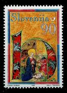 Slovenia 1999: Christmas Crib From The Kranj Antiphonary ** MNH - Slovénie