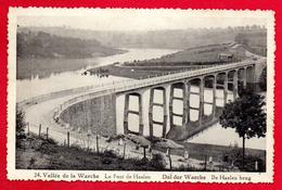 Robertville (Waimes). Le Pont De Haelen Sur Le Lac De Robertville - Waimes - Weismes