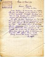 77 REBAIS OSIERICULTURE Marcel SALLOT Courrier à Propos De Pieux Thème BOIS OSIER - Autres