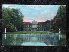 "!!! ""OOSTMALLE.- Le Château Vu Du Parc. Het Kasteel Met Vijver"" (Edit Janssens - De Roover) !!! 1908 Perfecte Kaart ! - Malle"