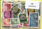 Lot 100 Timbres Luxembourg - Timbres