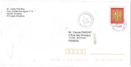 ANDORRA - 2009 - Lettre Prioritaire - Intero Postale - Entier Postal - Postal Stationery - Viaggiata Da La Vella Per Roy - Interi Postali & Prêts-à-poster