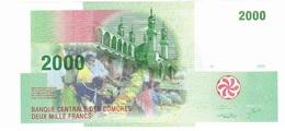 Comoros 2000 2.000 Francs 2005 - UNC - Comoros