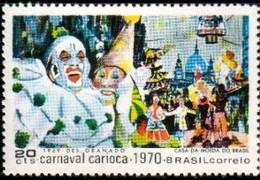 Clowns, Carioca Carnival, Rio De Janeiro, Brazil Stamp SC#1152 MNH - Brésil