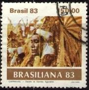 Dancer, Brasiliana '83 Carnival, Brazil Stamp SC#1844 Used - Brésil