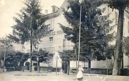 09 - Ussat - Hotel Et Café Rouan - Francia