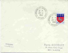 Cachet De Ambares Et Lagrave - Labaz - Marcophilie (Lettres)