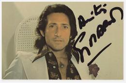 A SAISIR !!!! Guy MARDEL (image Autographiée) - Cantanti E Musicisti