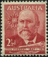 Pays :  46 (Australie : Confédération)      Yvert Et Tellier N° :  170 (**) - 1937-52 George VI