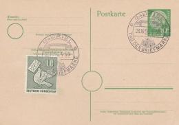 Germany Postal Stationary P/m Kiel 1956 Tag Der Briefmarke (T6-10) - Tag Der Briefmarke