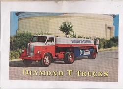 PHOTO CAMION DIAMOND T TRUCKS (bien Voir Description) - Camions