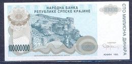 Croatia  - 1993 -   100 Mil  Dinar ....UNC ..PR25 - Croatia