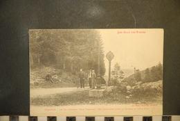 Cp, 88, VENTRON- LE COL D ODEREN - COTE FRANCAIS - COL FRONTIERE AVANT LA GUERRE 1914-1916 - Frankreich