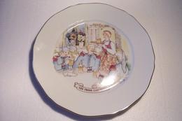 BIERE  - MAITRE  KANTER -- KANTERBRAU - LES TROIS CAPITAINES   - PUBLICITE - ASSIETTE -( Pas De Reflet Sur L'original ) - Plates