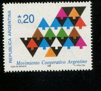 424053891 ARGENTINIE DB 1987 POSTFRIS MINTNEVER HINGED POSTFRIS NEUF YVERT 1561 - Argentinien