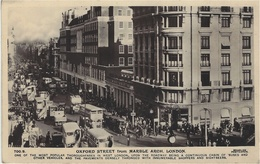 LONDON - OXFORD STREET From MARBLE ARCH - Belle Animation - VEHICULES - BUS - Ed. Beagles & Co. - Londen