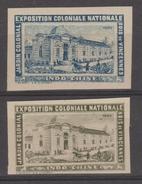 INDOCHINE VIETNAM  NON DENT/IMPERF  2 LABEL  COLORS DIF. 1907  Réf  G678