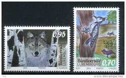 Luxembourg 2016 Fauna, Wolf, Birds, Biodiversity
