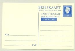 Nederland - 1969 - 25+25 Cent Briefkaart Juliana Regina, G345 Ongebruikt - Postal Stationery