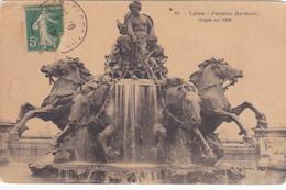 69 - LYON - Fontaine Bartholdi érigée En 1892 - Lyon