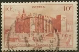 AFRICA OCCIDENTAL FRANCESA 1947 Local Motives. USADO - USED.. - A.O.F. (1934-1959)