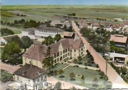CPSM - ERSTEIN (67) - Vue Aérienne Sur Le Quartier Du Collège D'Enseignement Secondaire Dans Les Années 60 - France