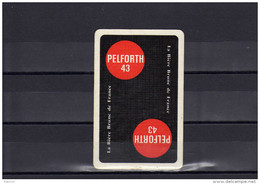 Dos D´une Carte à Jouer De La Biere PELFORTH - Unclassified