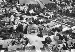 CPSM - ERSTEIN (67) - Vue Aérienne Sur Le Centre Du Bourg Dans Les Années 50 / 60 - France