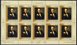 RUSSIAN FEDERATION 2009 Perov Anniversary In Sheetlets MNH / **.  Michel 1532-33 - 1992-.... Federation