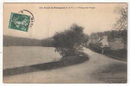 35 - Forêt De PAIMPONT - L'Etang Des Forges - EMR 309 - 1910