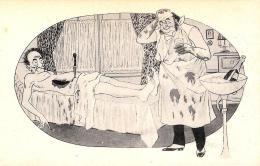 [DC3880] CPA - HUMOR - PAZIENTE MORTO DOTTORE OPERAZIONE - Non Viaggiata - Old Postcard - Humor