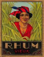 "06574 ""RHUM VIEUX"" ETICHETTA ORIG. - Rhum"