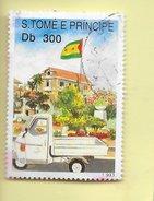 TIMBRES - STAMPS - SAO TOME ET PRINCIPE / SAO TOME AND PRINCIPE - UCCLA - S. TOME ET PRINCIPE - TIMBRE OBLITÉRÉ - Sao Tomé E Principe