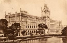 Calcutta, West Bengalen, High Court, One Anna/Half Anna, Tuck - India