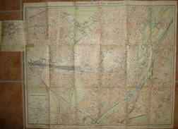 Brunn ' Plan Von München - Maßstab 1:12'500 - 54cm X 65cm - Strassenbahnnetz - Ohne Einband - Landkarten