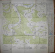 Kipfenberg 1976 - Topographische Karte 7034 - Normalausgabe Mit Waldflächen - Maßstab 1:25'000 59cm X 62cm - Topographische Karten