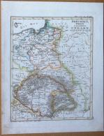Litografia - Cartografia -Stieler's Sckul Atlas N° XV - Preussen Ungarn - 1800 - Other Collections