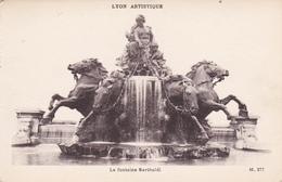 69 - LYON - La Fontaine Bartholdi - Lyon
