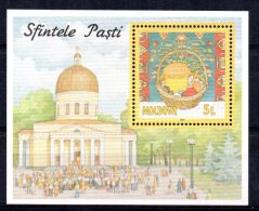 Moldova - 1997 - Easter Miniature Sheet - MNH - Moldavie