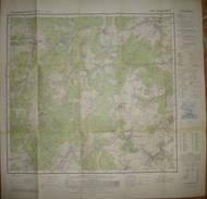 Kempenich 1968 - Topographische Karte 5508 - Maßstab 1:25'000 59cm X 59cm - Topographische Karten