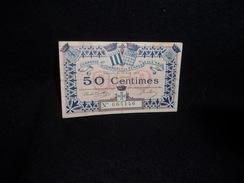 Rennes . Saint - Malo. Billet 50 Centimes .Chambres De Commerce.Voir 2 Scans. - Monnaies & Billets