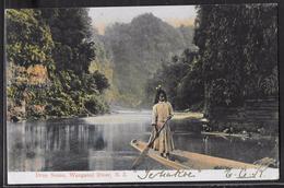 CPA NOUVELLE-ZELANDE - Wanganui River, Drop Scene - Nouvelle-Zélande