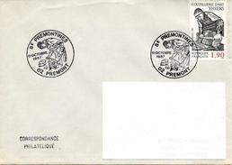PREMONT (AISNE) : Oblitération Temporaire 1987 SABOTIER - Jobs